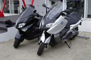 BMW C600 SportsとT-MAX
