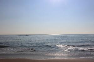 波も穏やか