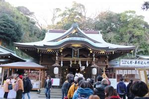 日本三大弁財天を奉る江島神社