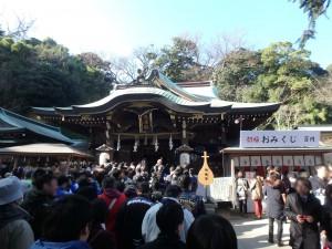 江ノ島の江島神社で初詣!